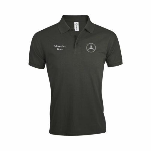 Mercedes Polo Majica U Tamno Sivoj Boji