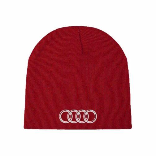 Audi Kapa Za Zimu U Crvenoj Boji