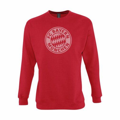 Bayern Munchen Veliki Grb Dukserica U Crvenoj Boji
