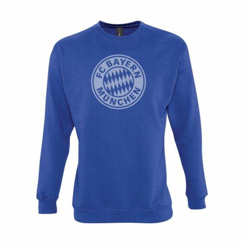 Bayern Munchen Veliki Grb Dukserica U Plavoj Boji
