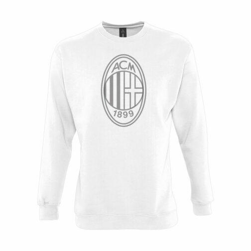 AC Milan Veliki Grb Dukserica U Beloj Boji