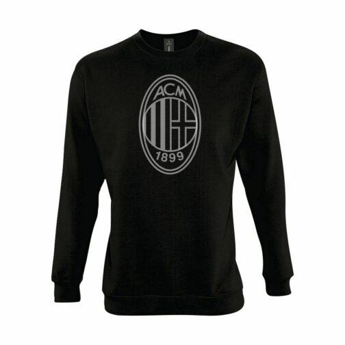AC Milan Veliki Grb Dukserica U Crnoj Boji