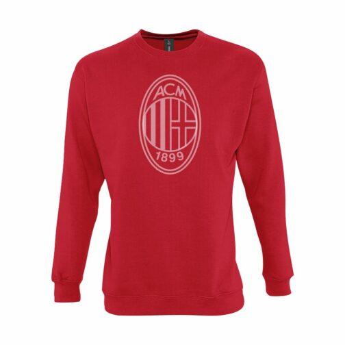 AC Milan Veliki Grb Dukserica U Crvenoj Boji