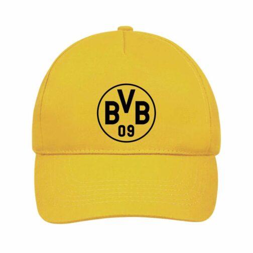 BVB Kačket u žutoj boji sa printom napred