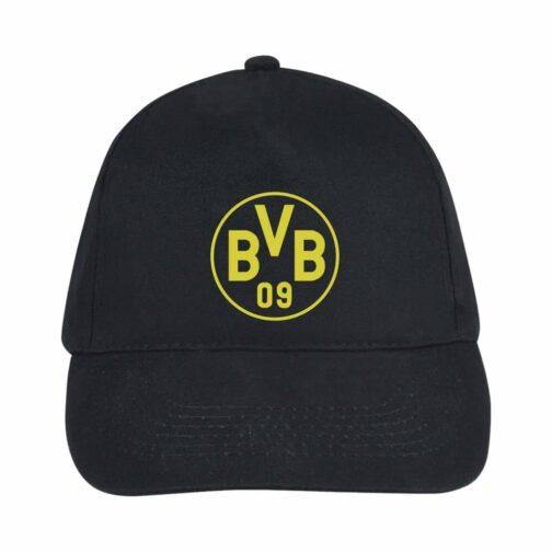 BVB Kačket u crnoj boji sa printom napred