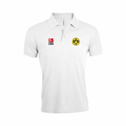 BVB Polo Majica Bundesliga U Beloj Boji