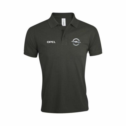 Opel Polo Majica U Tamno Sivoj Boji