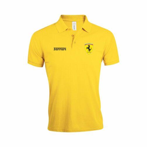 Ferrari Polo Majica U Žutoj Boji
