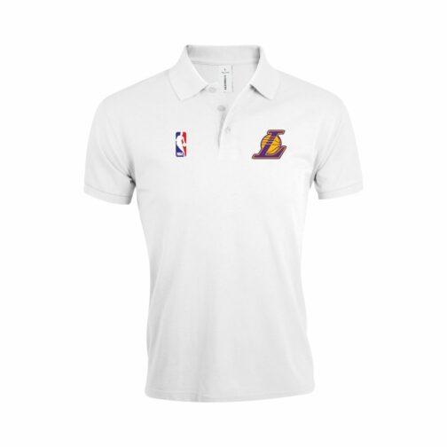 LA Lakers Polo Majica U Beloj Boji