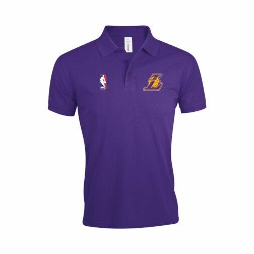 LA Lakers Polo Majica U Ljubičastoj Boji