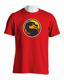 Mortal Kombat Logo Majica