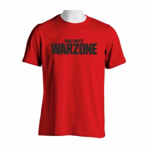 Majica crvene boje sa printom Call Of Duty