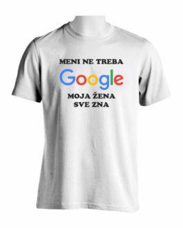 Meni Ne Treba Google Majica