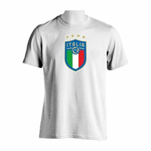 Italija Veliki Grb Majica U Beloj Boji