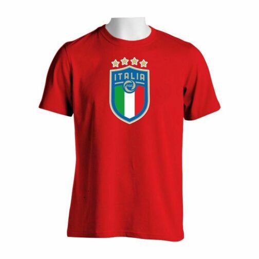 Italija Veliki Grb Majica U Crvenoj Boj