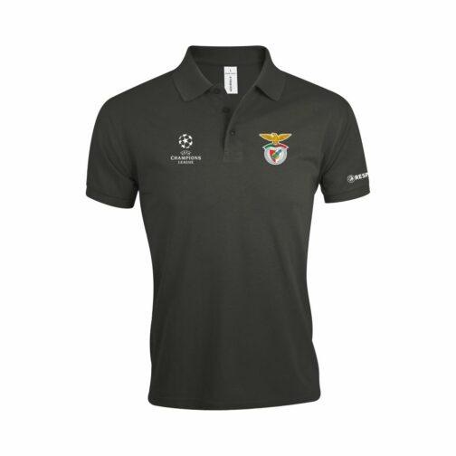 Benfica Polo Majica U Tamno Sivoj Boji