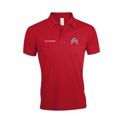 Citroen Polo Majica U Crvenoj Boji