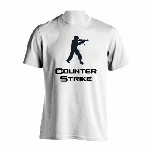 Counter Strike Majica U Beloj Boji