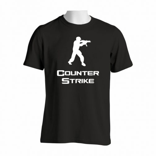 Counter Strike Majica U Crnoj Boji