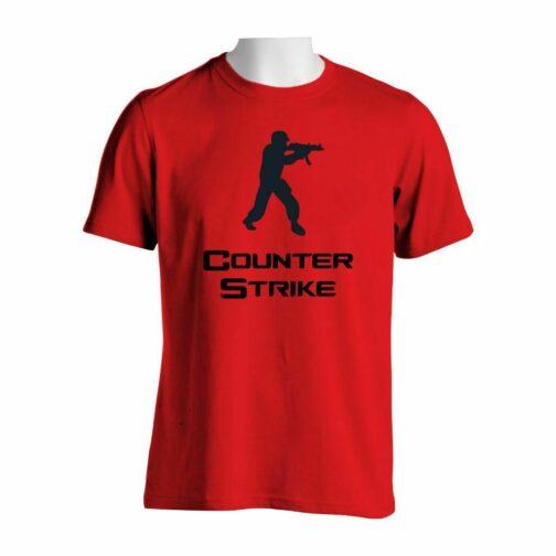 Counter Strike Majica U Crvenoj Boji