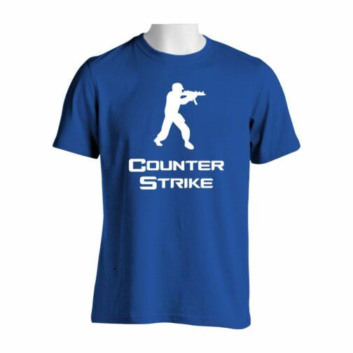 Counter Strike Majica U Plavoj Boji