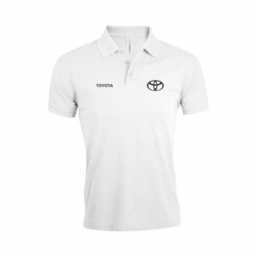Toyota Polo Majica U Beloj Boji