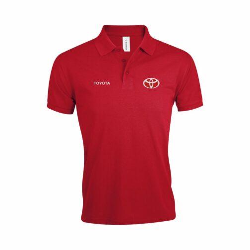 Toyota Polo Majica U Crvenoj Boji