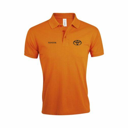 Toyota Polo Majica U Narandžastoj Boji