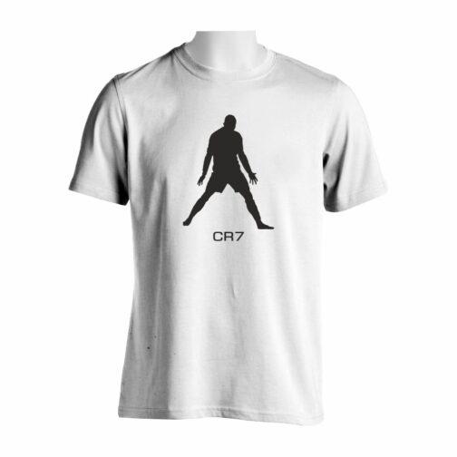 CR7 Majica U Beloj Boji